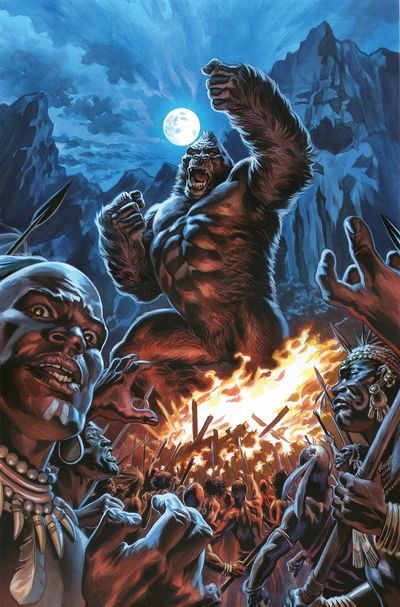 Kong of Skull Island comics at TFAW.com
