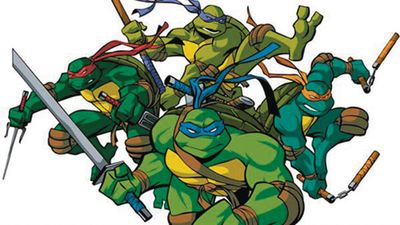 Teenage Mutant Ninja Turtles Adult Coloring Book MAY162065F