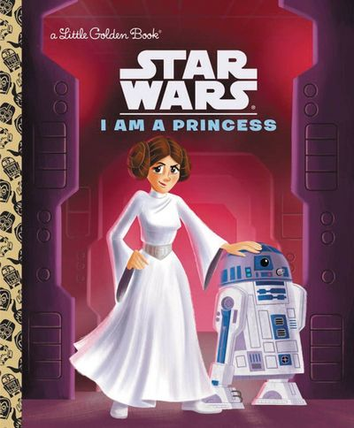 Star Wars Little Golden Book I Am Princess MAY162079F