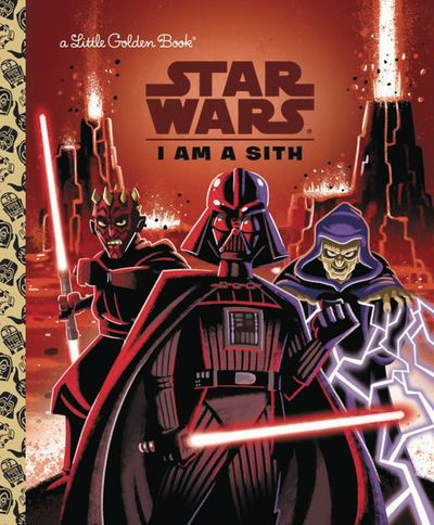 Star Wars Little Golden Book I Am Sith MAY162080F
