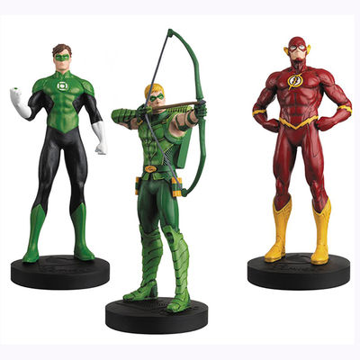 DC Masterpiece Figure Coll Mag #6 Justice League Set 2 MAY162431U