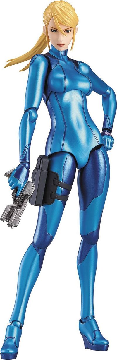 Metroid Other M Samus Aran Figma Zero Suit Action Figure MAY168083I