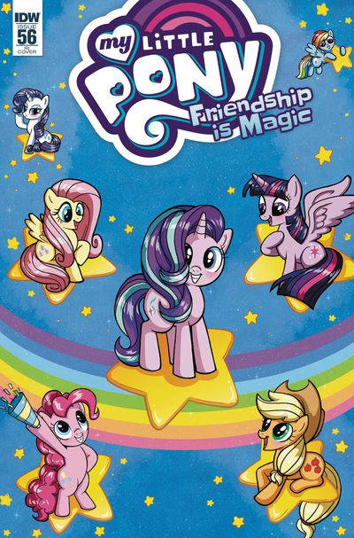 My Little Pony Friendship Is Magic #56 (Retailer 10 Copy Incentive Variant Cover Edition) MAY170569