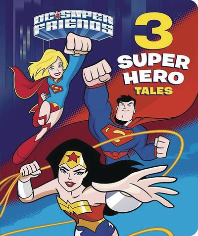 DC Super Friends 3 Super Hero Tales Board Book MAY172132F