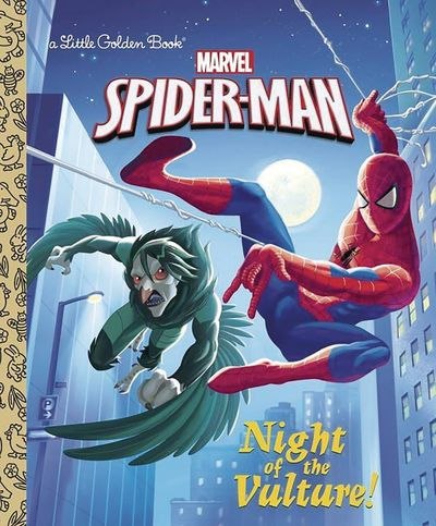 Spider Man Night of Vulture Little Golden Bk MAY172147F