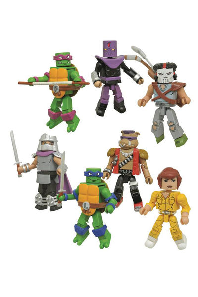 Teenage Mutant Ninja Turtles Series 1 Classic Minimates Assortment MAY172502U