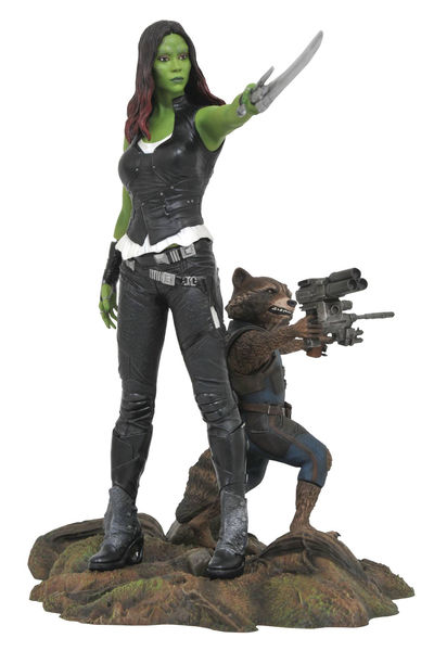 Marvel Gallery Guardians of the Galaxy 2 Gamora & Rocket Racoon Pvc Figure MAY172525U