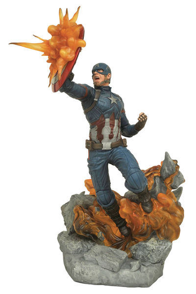 Marvel Milestones Civil War Movie Captain America Statue MAY172528U