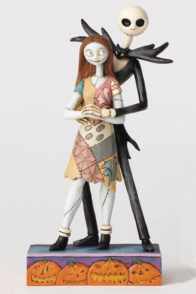 Disney Traditions Nightmare Before Christmas Nightmare Jack And Sally Figure MAY172601I