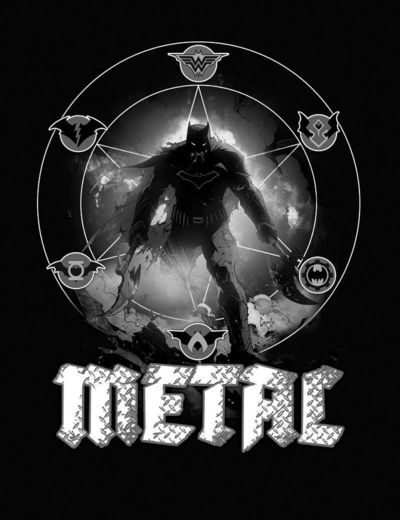 Dark Nights Metal #1 (of 6) (Midnight Release Variant Cover B)