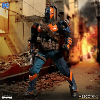 One-12 Collective Deathstroke Action Figure MEZCO-76370