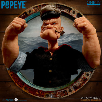 One-12 Collective Popeye Action Figure MEZCO-76470