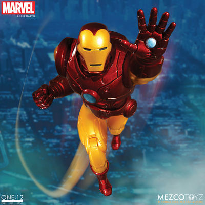 One-12 Collective Iron Man Action Figure MEZCO-76490