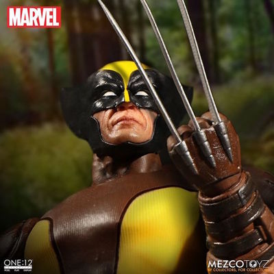 One-12 Collective Wolverine Action Figure MEZCO-76531