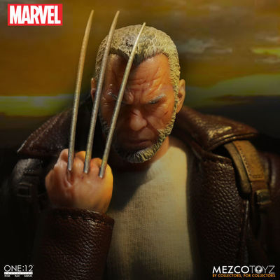 One-12 Collective Old Man Logan Action Figure MEZCO-76533