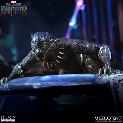 One-12 Collective Black Panther Action Figure MEZCO-76980