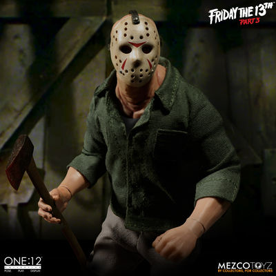One-12 Collective Friday the 13th Part 3 Jason Voorhees Action Figure MEZCO-77160