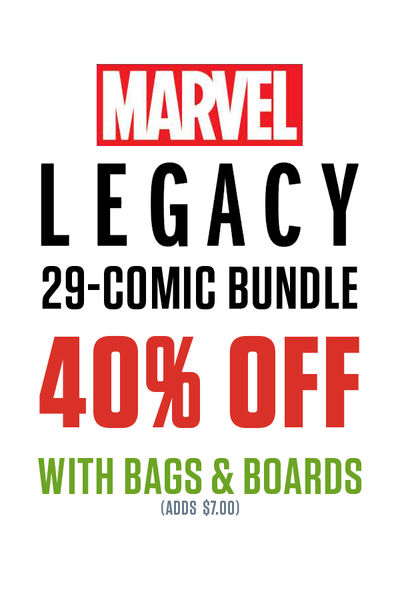 Marvel Legacy 29-Comic Bundle (Bagged and Boarded) MRVLLEGBNDLBB