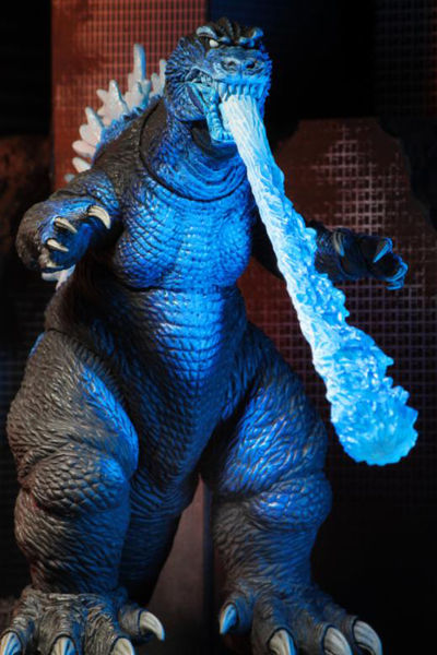 "Godzilla 12"" Head To Tail Godzilla Action Figure - 2001 Atomic Blast NECA-42883"
