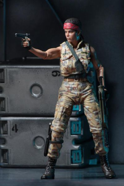 Aliens Series 12 7-Inch Action Figure - Private Jenette Vasquez (BDUs) NECA-51636VASQUEZ