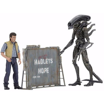 Aliens 7-Inch Action Figure Hadley's Hope 2 Pack NECA-51671