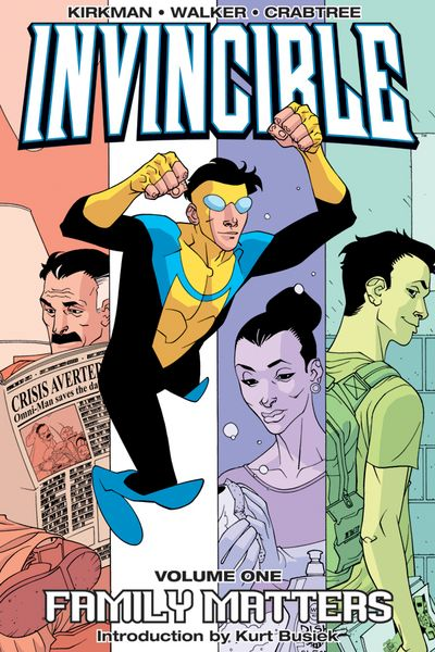Invincible TPB Vol. 1: Family Matters Cover