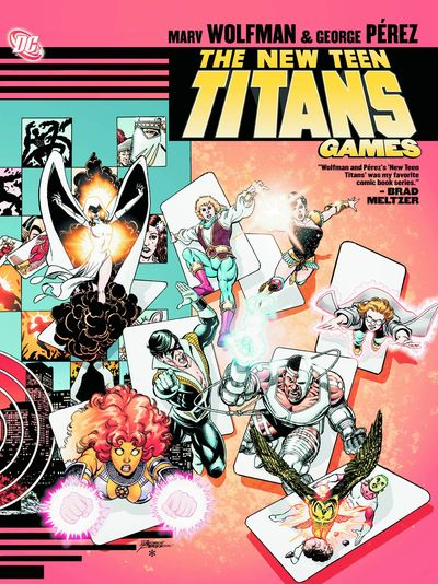 New Teen Titans Games TPB NOV120275D