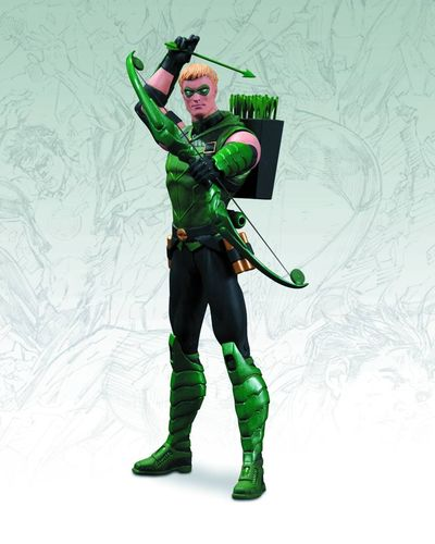 The New 52 Green Arrow Action Figure NOV120313X