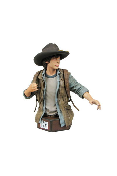 Walking Dead TV Carl Grimes Mini-bust NOV132029I