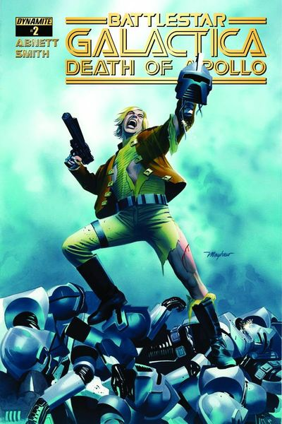 Battlestar Galactica Death Of Apollo #2 (of 6) (Cover A - Mayhew)