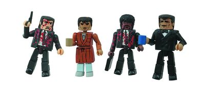 Pulp Fiction 20th Ann Minimates Bonnie Situation Set NOV142183U
