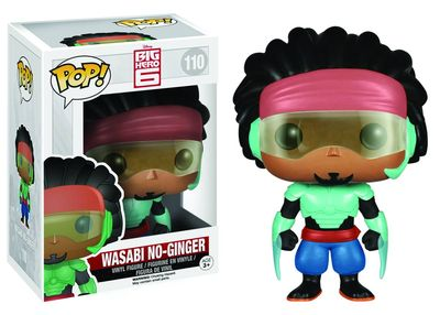 Pop Big Hero 6 Wasabi No Ginger Vinyl Figure NOV142624I