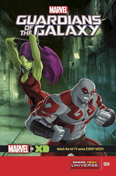 Marvel Universe Guardians Of Galaxy #4