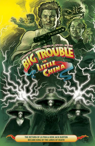 Big Trouble In Little China TPB Vol. 02 NOV151144E