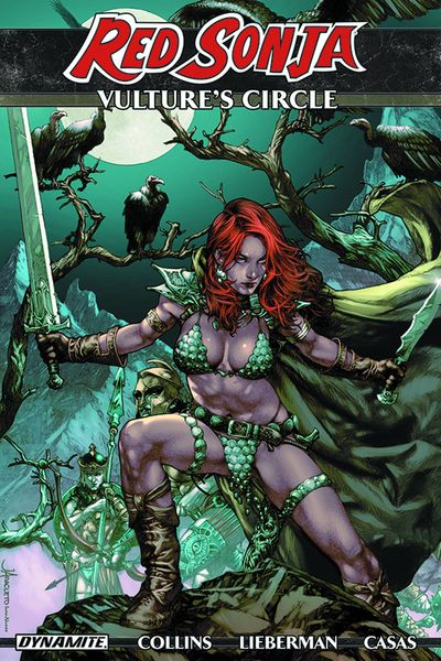 Red Sonja Vultures Circle TPB
