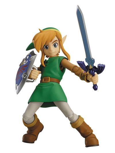 Legend of Zelda: Link Between Worlds Link Figma Action Figure NOV158469I
