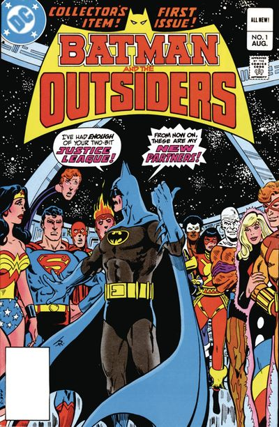 Batman & The Outsiders HC Vol. 01 NOV160328D
