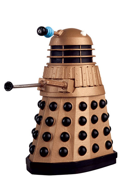 Doctor Who Figure Coll Mag #1 Golden Dalek