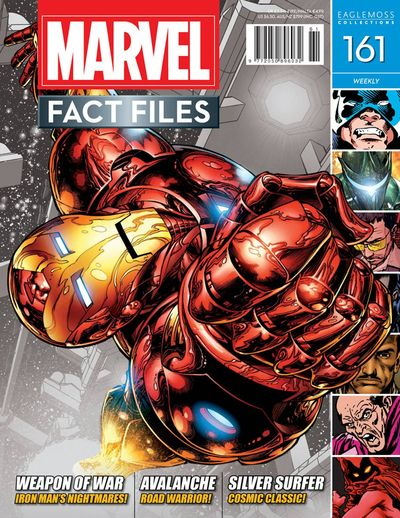 Marvel Fact Files #161