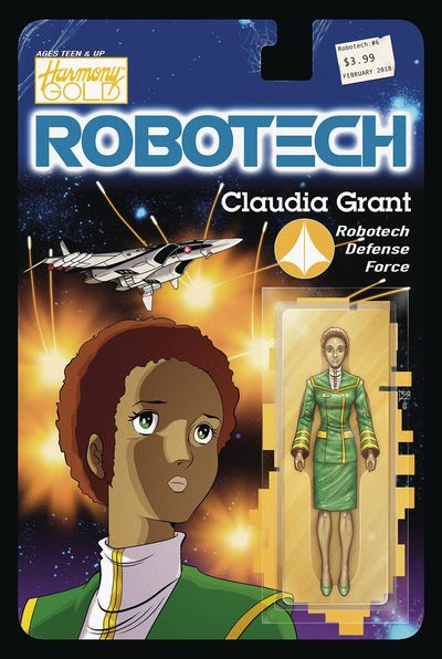 Robotech #6 (Cover B - Action Figure Variant) NOV171943