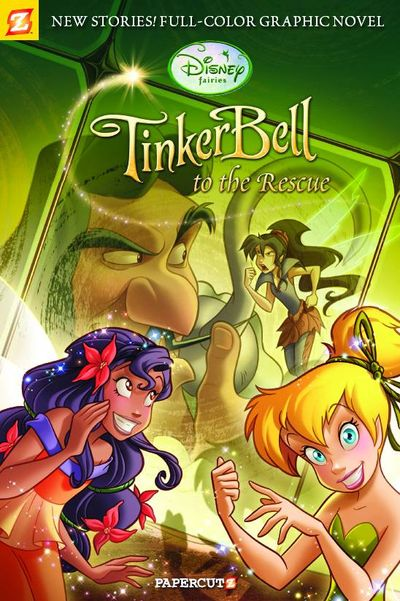 Disney Fairies GN Vol. 04 Tinker Bell To the Rescue OCT101075F