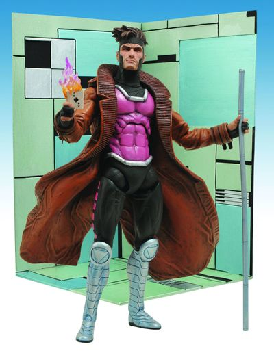 Marvel Select Gambit Action Figure OCT101482I