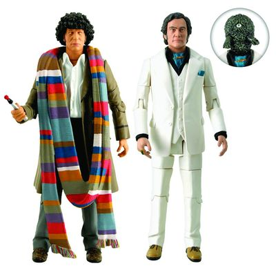 Doctor Who City Of Death Action Figure 2pk