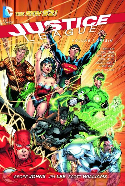 Justice League TPB Vol. 01 Origin OCT120252D