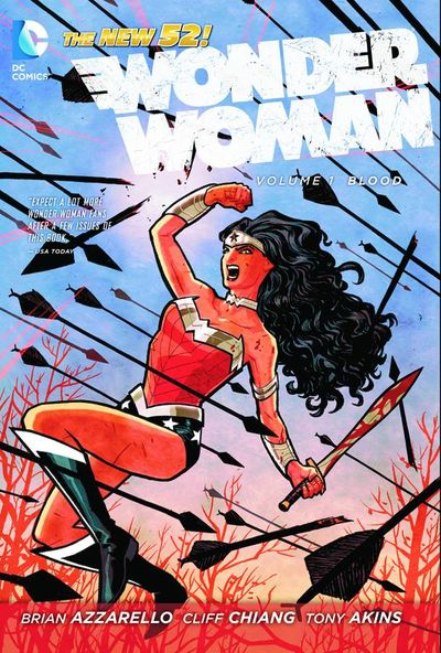 Wonder Woman TPB Vol. 01 Blood OCT120256D