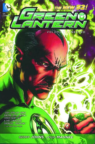 Green Lantern TPB Vol. 01 Sinestro OCT120257D