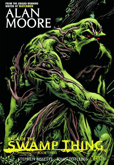 Saga of the Swamp Thing Book 3 Cover