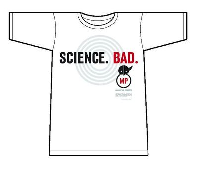 Image of Manhattan Projects T-Shirt Mens White SM