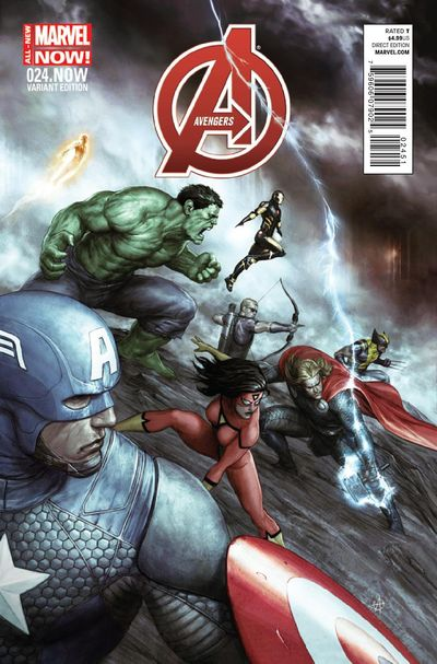 Avengers #24.NOW (Alessio Variant Cover Edition)