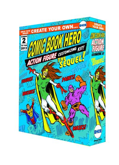 Create Your Own Comic Book Hero Sequel Action Figure Previews Exclusive Kit OCT131941U